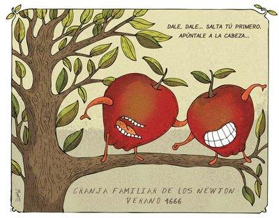 newton-manzanas
