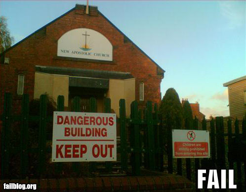 fail-owned-dangerous-church