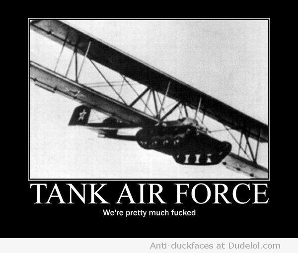 Tank-air-force