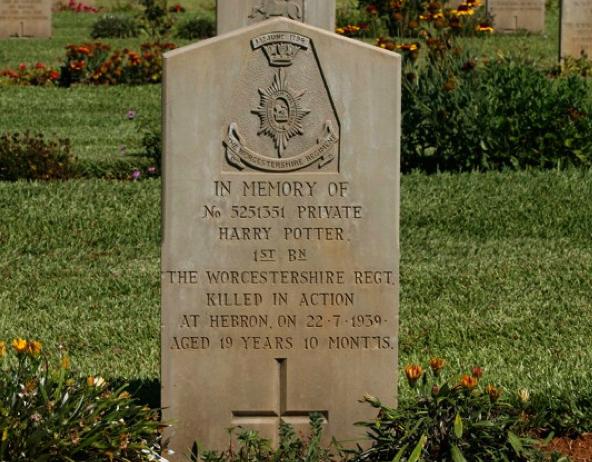 Harry-Potters-Grave
