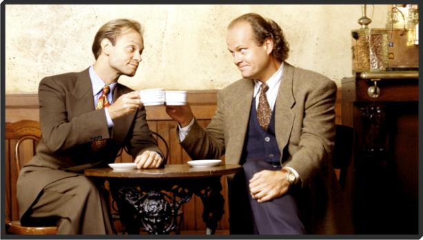 Frasier Crane and Niles