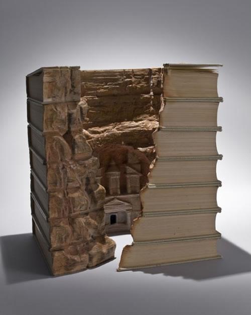 Hi ha gent que fa altres coses amb els llibres a part de llegir-los