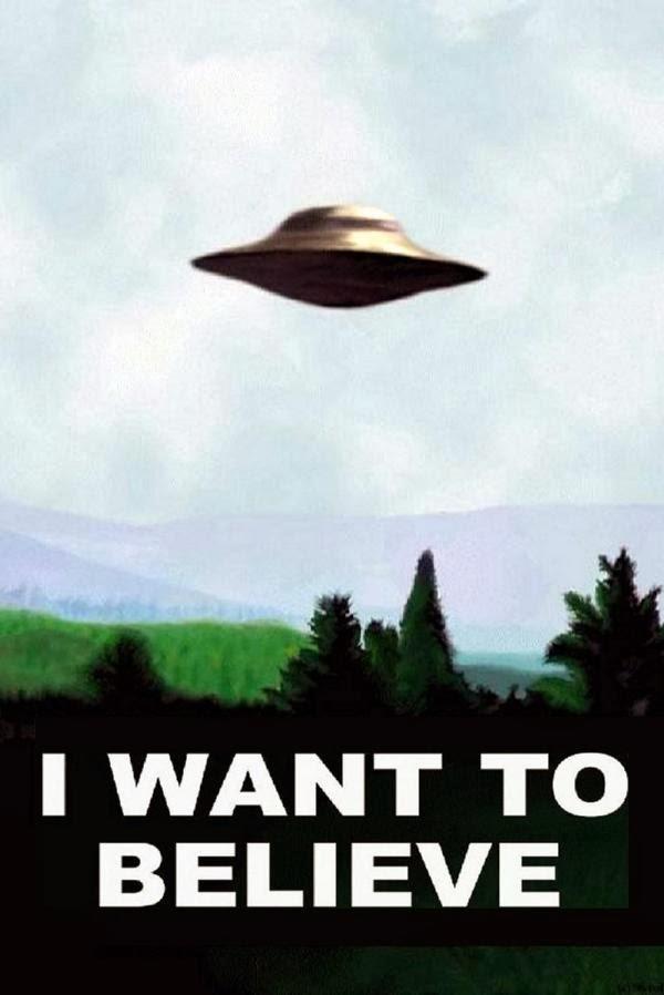 poster i want to believe expediente x (verdadero no copia falsa de internet; retocado)