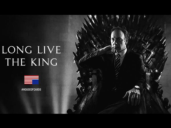 G.R.R. Martin confirma que ni Targaryen ni Lannister ni Stark, serà Underwood qui regnarà sobre ponent