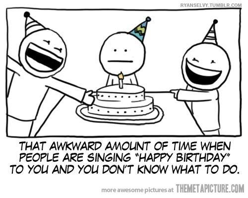Aniversaris, provocant moments incòmodes des de compleixes un any