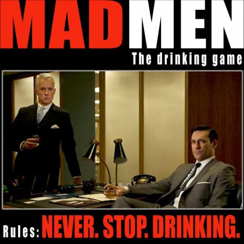 No es cert que sempre estiguin bevent, han de parar un moment quan fan una calada al cigar.