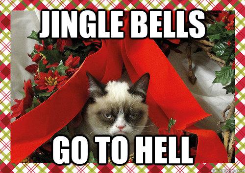 Ser feliç per Nadal? Grumpy Cat diu: No!