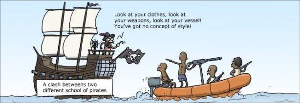 Els pirates cretencs eren més de l'estil de l'esquerra.