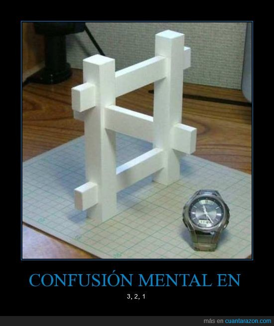 humor,confusión,ilusión,óptica,cuadro,Mental,reloj,palos,blaco