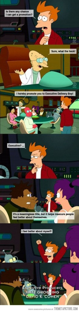 Futurama, autoparodiant-se des de 1999 ^^