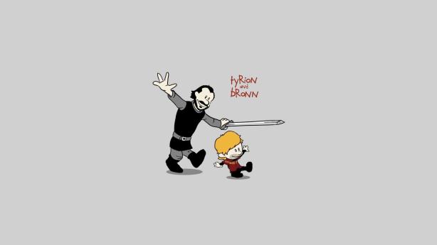 Game Of Thrones + Calvin & Hobbes