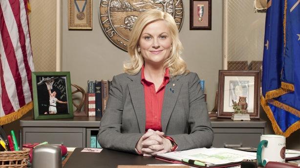 Es la secretària d'estat dels EEUU? No, només la vicepresidenta de parcs i recreació d'una petita ciutat d'Indiana