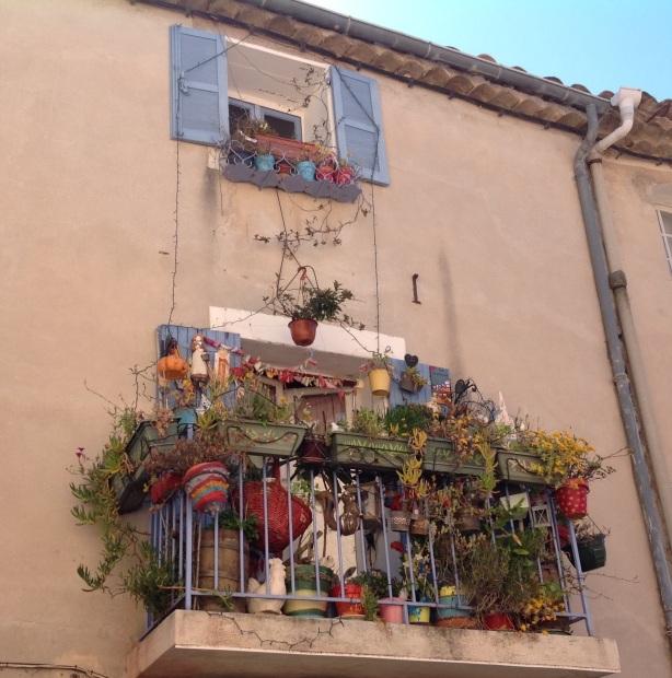 Balcó a Ramatuelle