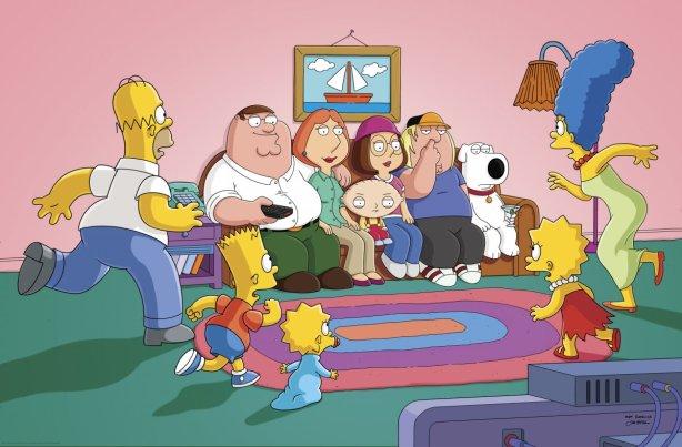 Lo del crossover amb els Simpson no era broma.