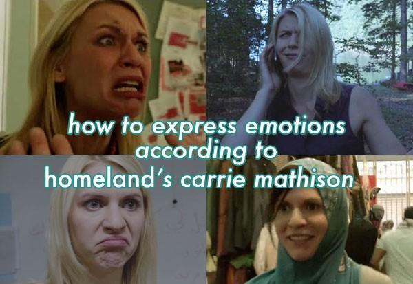 - Homeland seria millor sense la Carrie - Però si es la protagonista! - I què?