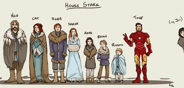 Quins temps aquells quan potent estava ple de Starks