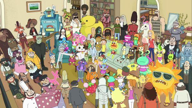 Només 5 dels personatges són del elenc de la sèrie, la resta són tot impostors.