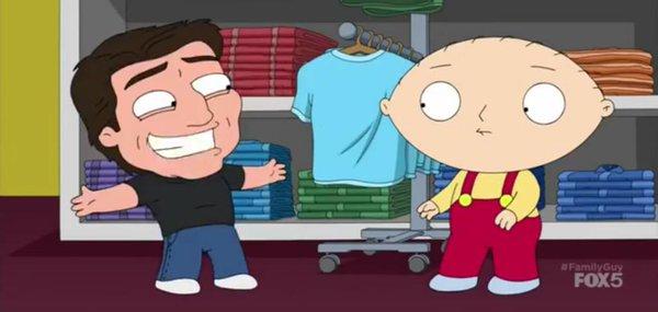 El petit Tom Cruise de Family Guy sempre somrient